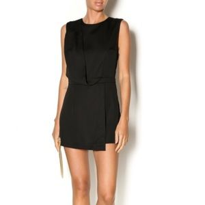 Blaque label faux wrap romper